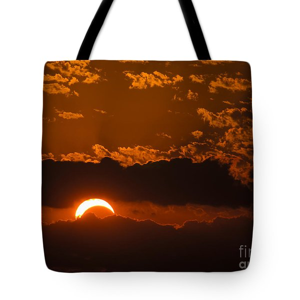 2012 Solar Eclipse Tote Bag