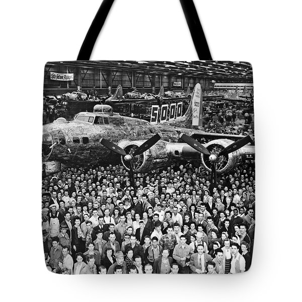 5,000th Boeing B-17 Built Tote Bag