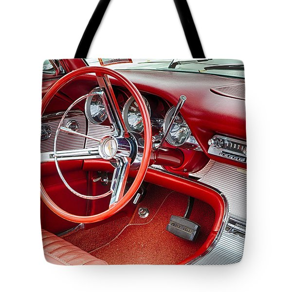 62 Thunderbird Interior Tote Bag by Jerry Fornarotto
