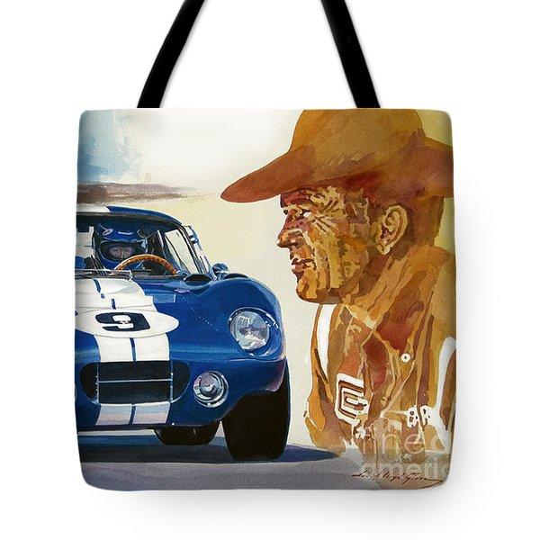 64 Cobra Daytona Coupe Tote Bag