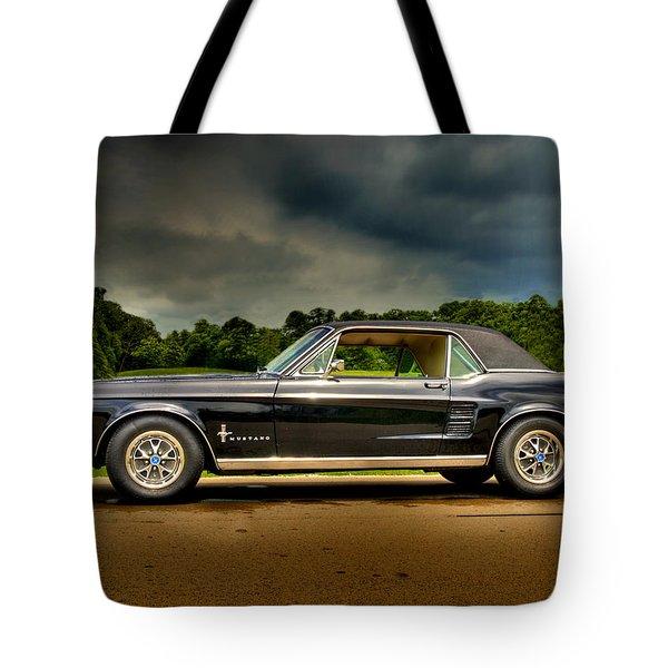 67 Mustang Tote Bag