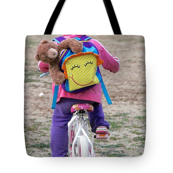 A Child's Adventure Tote Bag