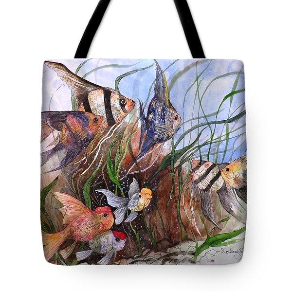 A Fishy Tale Tote Bag