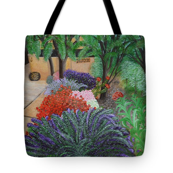 A Garden To Remember Tote Bag by Donna  Manaraze