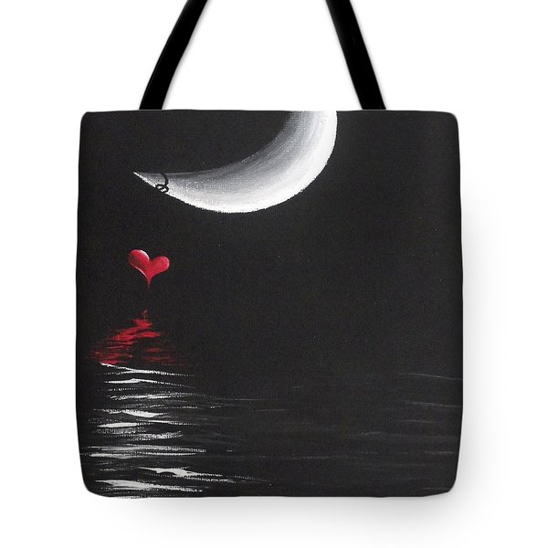 A Love Story No 13 Tote Bag by Oddball Art Co by Lizzy Love