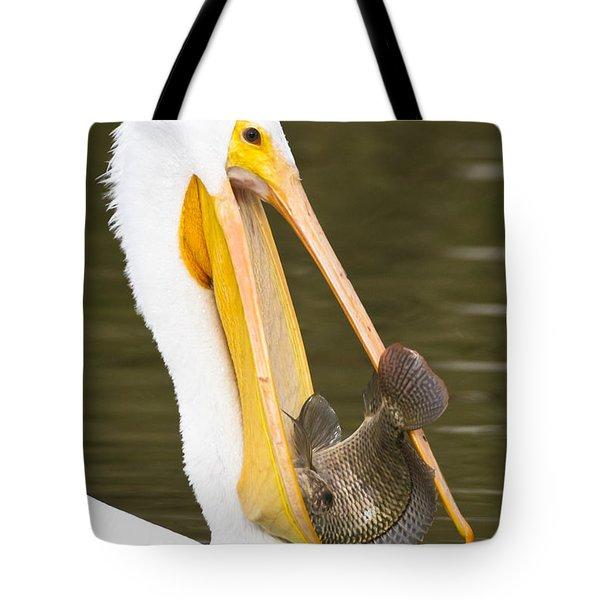 A Mouthful Tote Bag by Bryan Keil