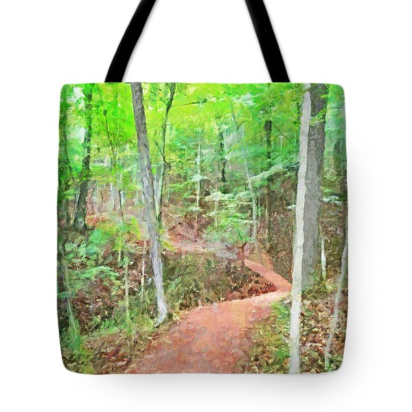 A Trail Through The Woods Tote Bag