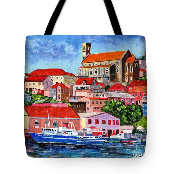 A View Of The Carenage Tote Bag