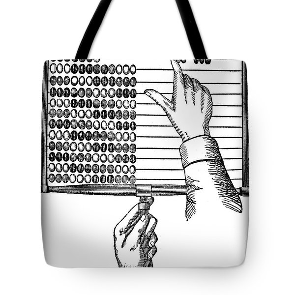 Abacus, 19th Century Tote Bag