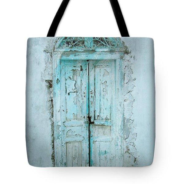 Abandoned Doorway Tote Bag