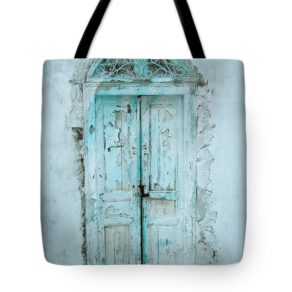 Abandoned Doorway Tote Bag