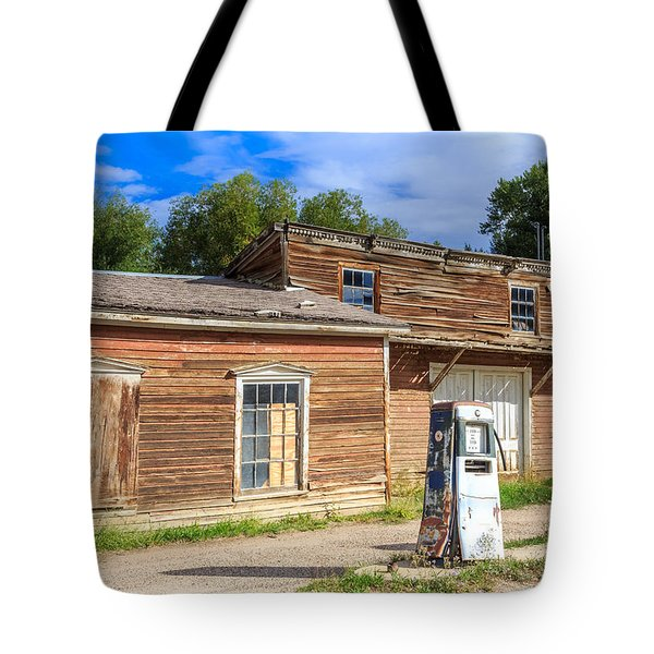 Abandoned Mining Buildings Tote Bag