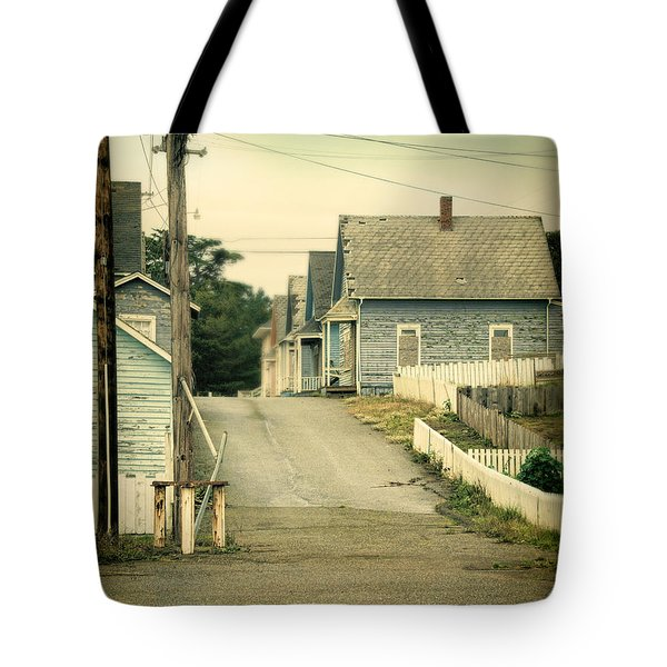 Abandoned Shacks Tote Bag by Jill Battaglia