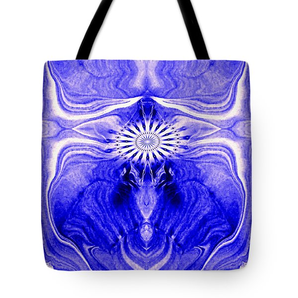 Abstract 139 Tote Bag by J D Owen
