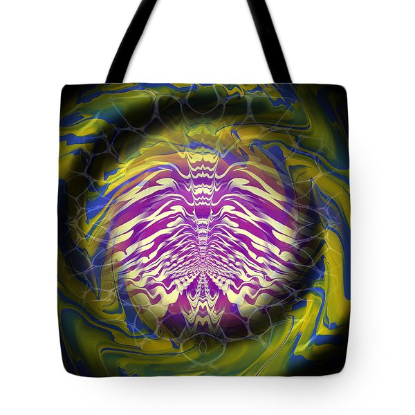 Abstract 141 Tote Bag by J D Owen