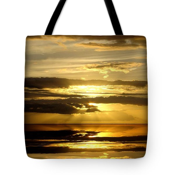 Abstract 91 Tote Bag by J D Owen