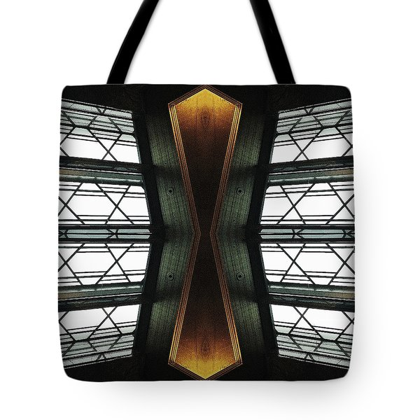 Abstract Empire Deco Tote Bag
