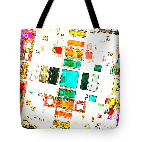 Abstract Geometric Art Tote Bag by Phil Perkins
