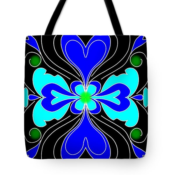 The Love Flower Tote Bag
