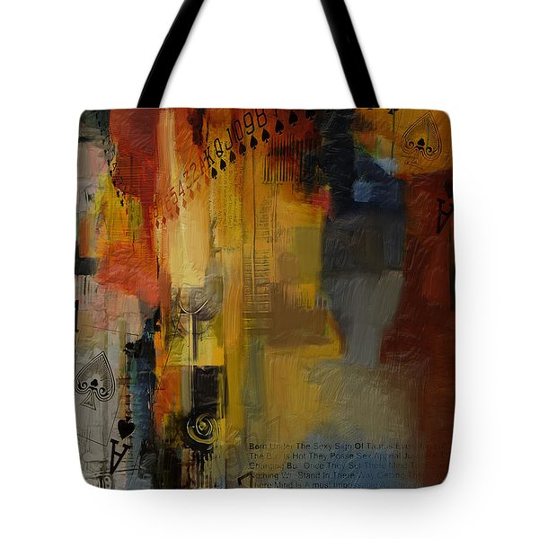 Abstract Tarot Art 013 Tote Bag by Corporate Art Task Force