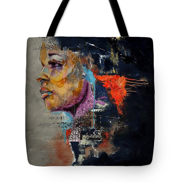 Abstract Women 015 Tote Bag by Corporate Art Task Force