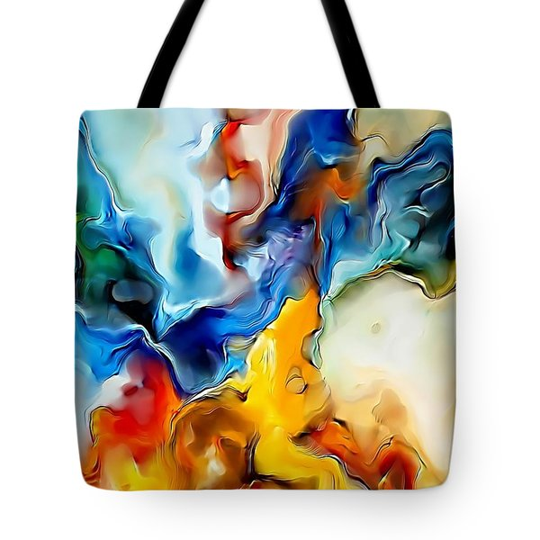 Abstraction 599-11-13 Marucii Tote Bag