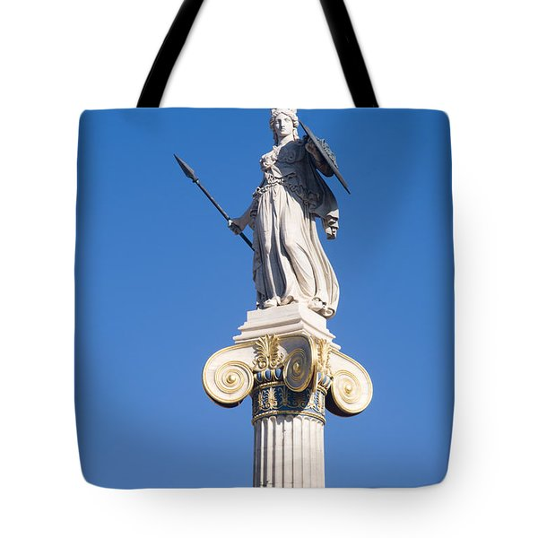 Academy Of Athens Tote Bag