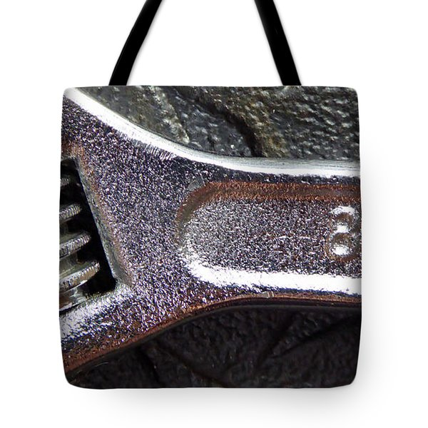 Adjustable Wrench Q Tote Bag