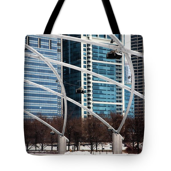 Advanced Geometry Tote Bag by Joanna Madloch