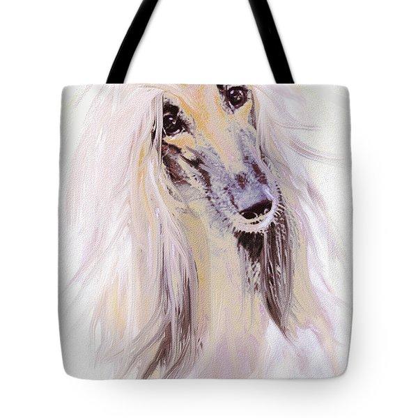 Afghan Hound Tote Bag