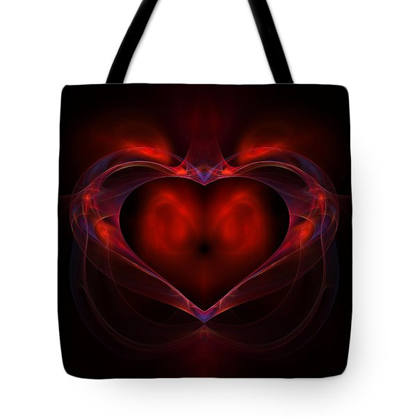 Aflame Tote Bag by Lyle Hatch