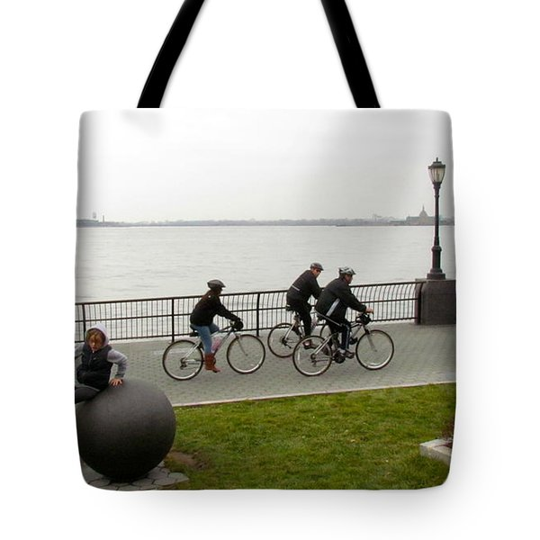 After Hurricane Sandy Tote Bag by Randi Shenkman