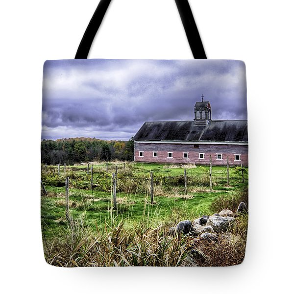 Tote Bag featuring the photograph After The Harvest by Betty Denise