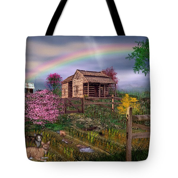 After The Storm Tote Bag by Mary Almond