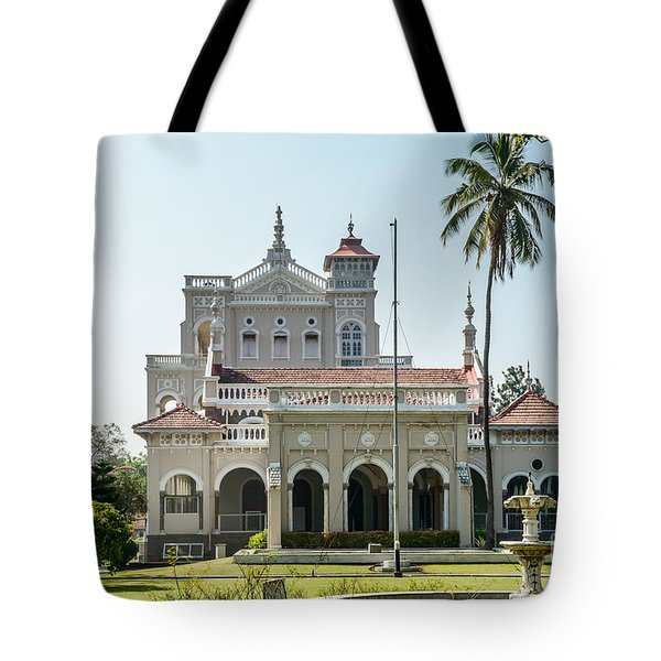 Aga Khan Palace Tote Bag