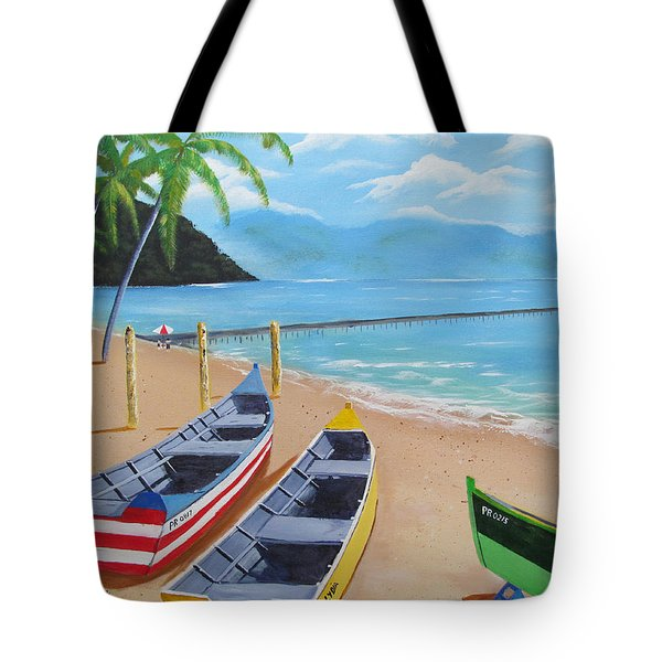 Aguadilla Crashboat Beach Tote Bag
