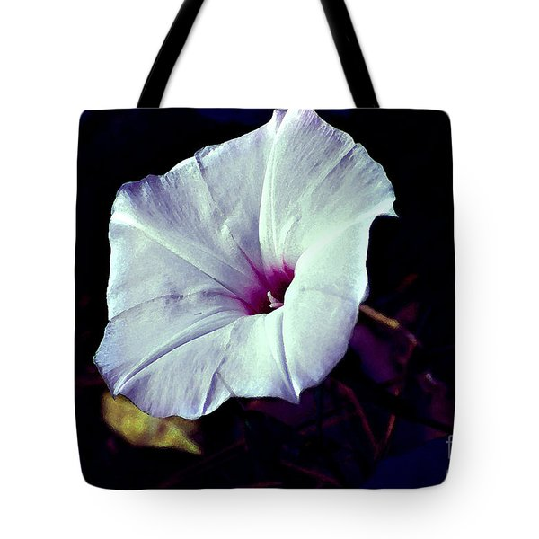 Alabama Wild Morning Glory Tote Bag by Linda Cox