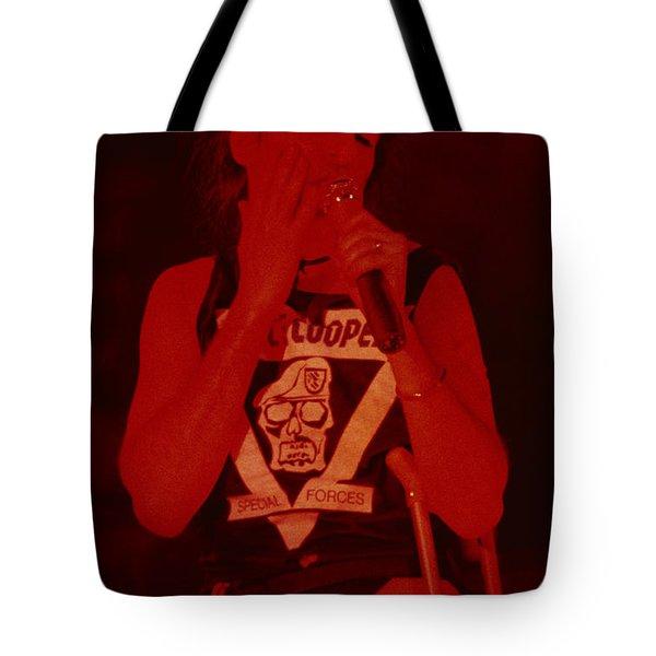 Alice Cooper At The Concord Pavillion Tote Bag