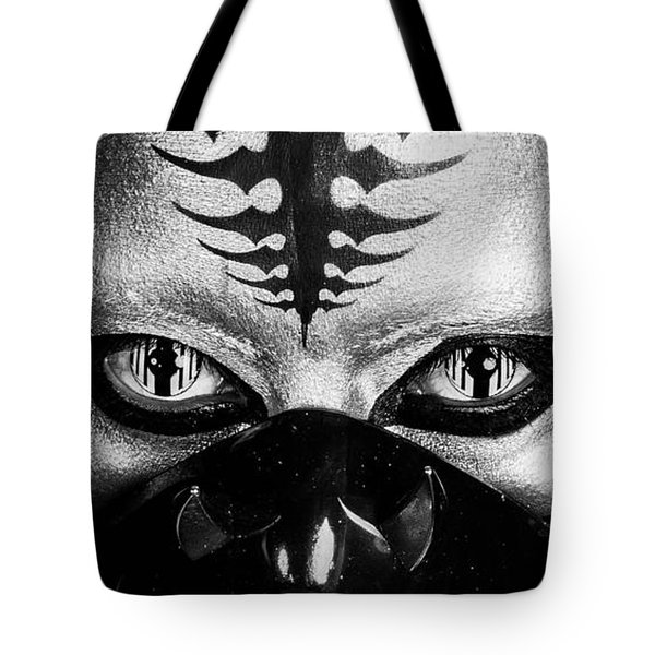 Tote Bag featuring the photograph Alien by Angelique Olin