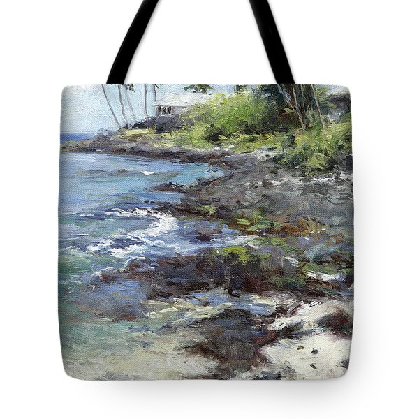 Ali'i Drive Homes Tote Bag by Stacy Vosberg