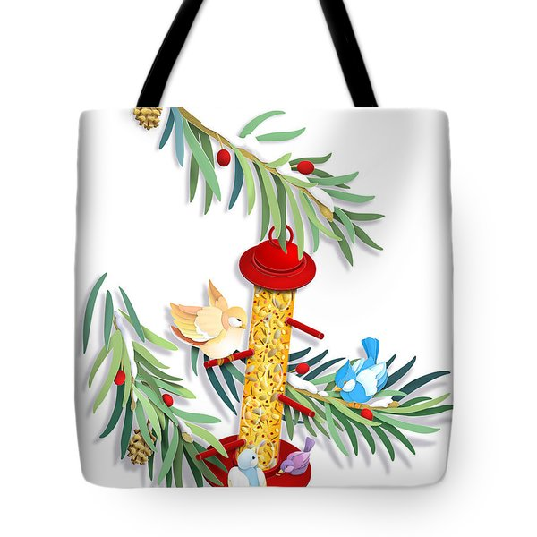 All About Sharing Tote Bag