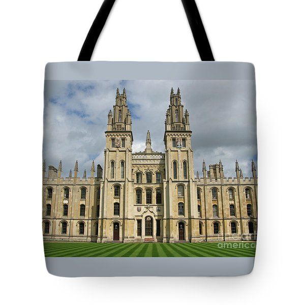 All Souls Oxford Tote Bag by Ann Horn