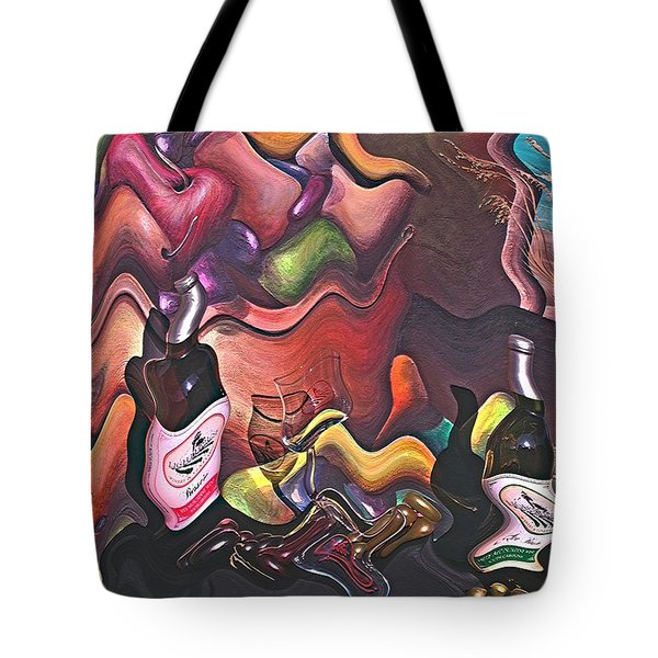 All Wined Up Tote Bag
