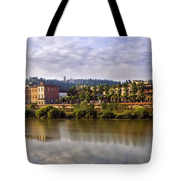 Along The Arno Tote Bag