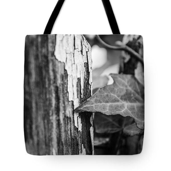 Tote Bag featuring the photograph Along The Fence by JT Lewis