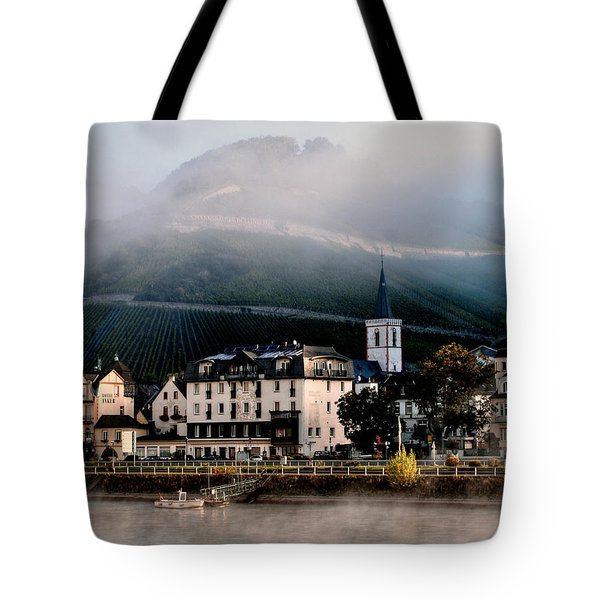 Tote Bag featuring the photograph Along The Rhine by Jim Hill
