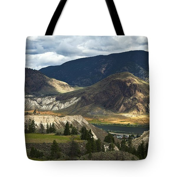 Along The River  Tote Bag by Theresa Tahara