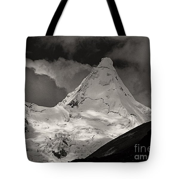 Alpamayo Peru Tote Bag by Rudi Prott