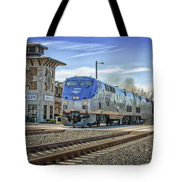 Amtrak 112 Tote Bag