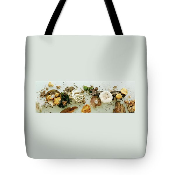 An Assortment Of Mushrooms Tote Bag